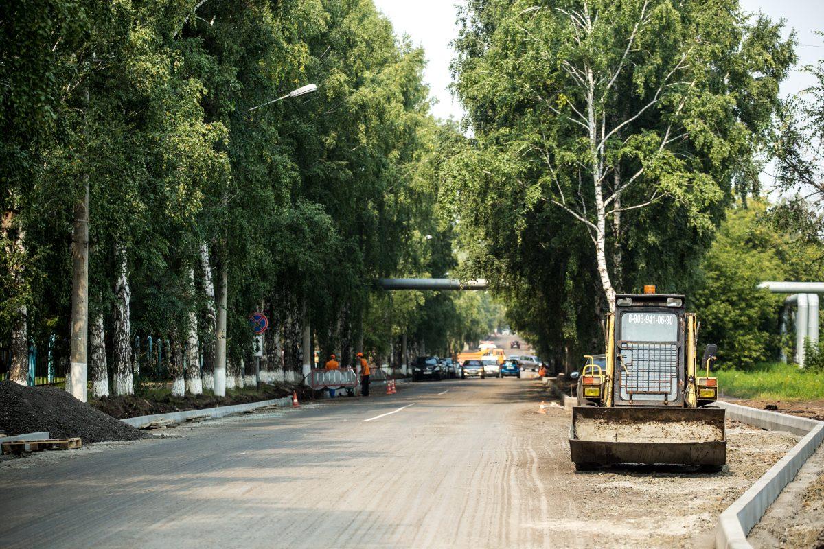Пионерским бульваром в Кемерове.